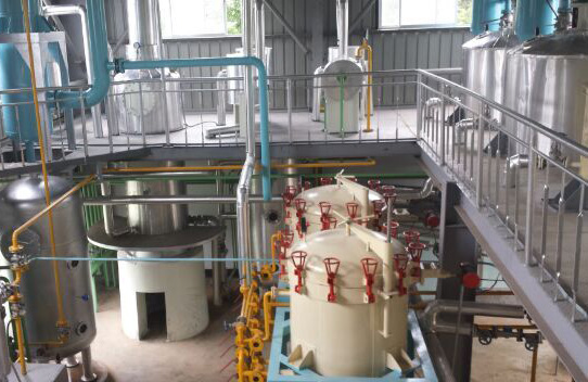 Small Scale Oil Refinery Plant equipments