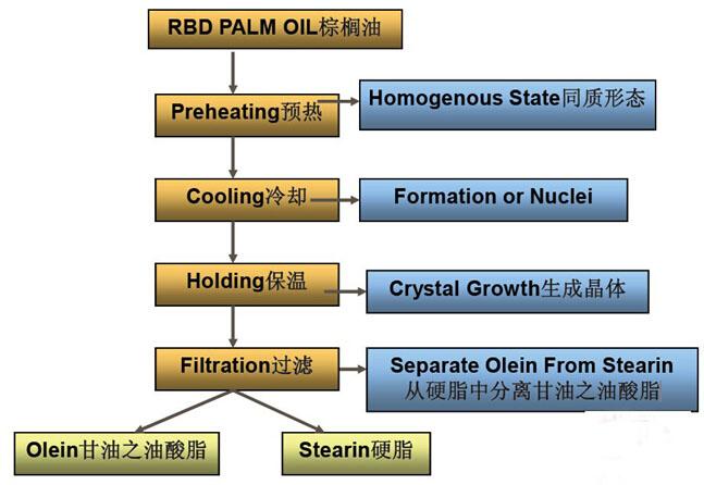 palm oil fractionation process