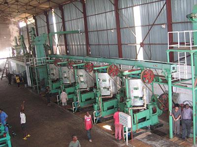 Palm Kernel Oil Extractin Plant workshop
